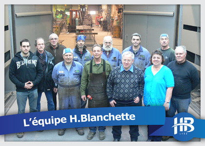 Team of H. Blanchette : Metal walkway et structural steel manufacturer